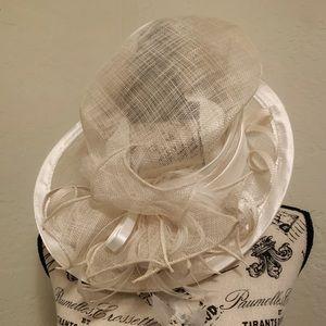 Classy Cream Colored Hat